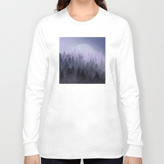 fantasy forest 2 Long Sleeve T-shirt