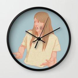 laura hollis Wall Clock
