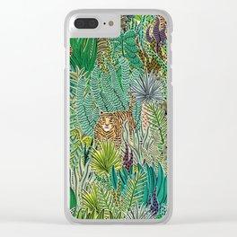 Jungle Tigers by Veronique de Jong Clear iPhone Case