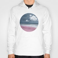 lonely Hoodies featuring LONELY BEACH by INA FineArt