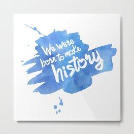 History Maker {Yuri on Ice} Metal Print