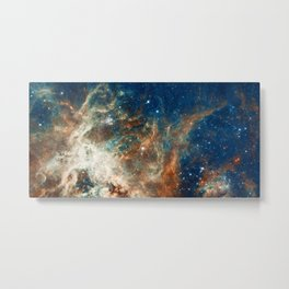 Space Nebula, Star and Space, A View of Galaxy and Outerspace Metal Print