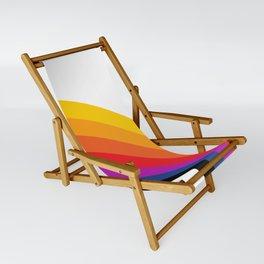 Retro Rainbow - Right Sling Chair