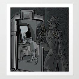 vault 114 Art Print