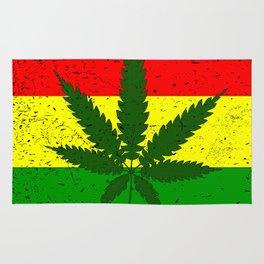 Rastafarian Flag Rug