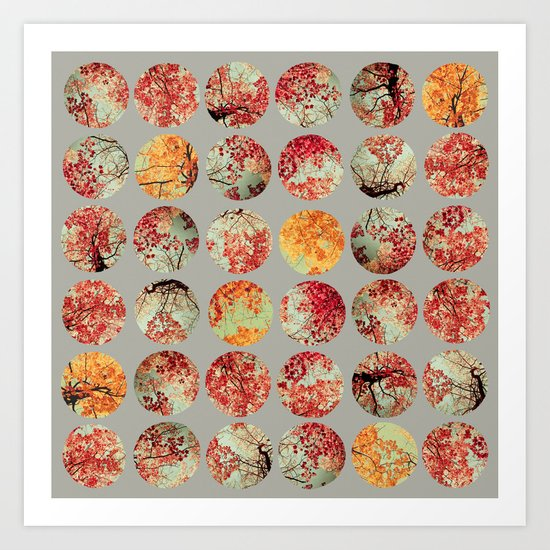 Inkblot Quilt - by Garima Dhawan and Joy StClaire Art Print