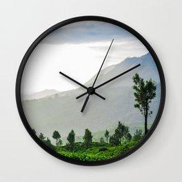 Tea Garden - 1 Wall Clock