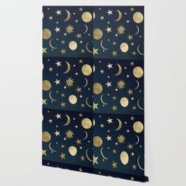Starry Night #1 #decor #art #society6 Wallpaper