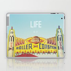 Life Is A Roller Coaster Laptop & iPad Skin