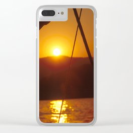 SUNSET DREAMING #1 #art #society6 Clear iPhone Case