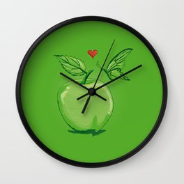 Apple of Love Wall Clock