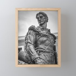 Mountaineer Strong Framed Mini Art Print