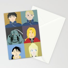 FMA Character Print Stationery Cards