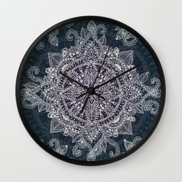 Mandala Magic  Wall Clock
