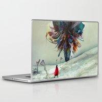 archan nair Laptop & iPad Skins featuring Soh:adoe by Archan Nair