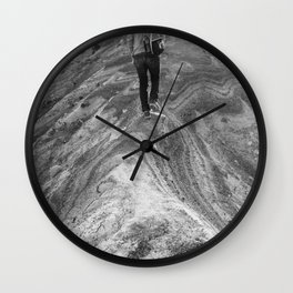Follow Me.  I Know What I'm Doing. Wall Clock