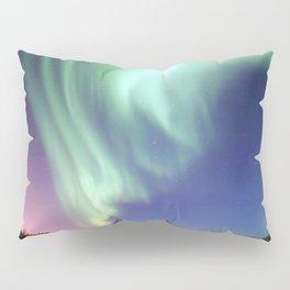 Northern Lights of Alaska Photograph Pillow Sham