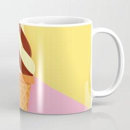 Ice Cream Cone - Summer Colors Coffee Mug