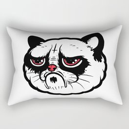 Stay moody. Stay grumpy. Rectangular Pillow