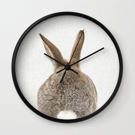 Bunny Tail Wall Clock
