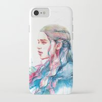 alicexz iPhone & iPod Cases featuring Dragonqueen by Alice X. Zhang