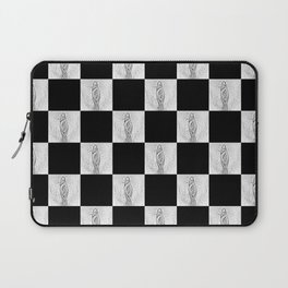 Checkerboard Pussy Laptop Sleeve