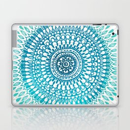 Radiate in Teal + Emerald Laptop & iPad Skin