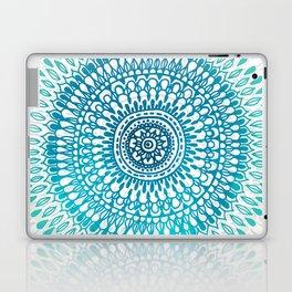 Radiate in Teal + Emerald Laptop & iPad Skin