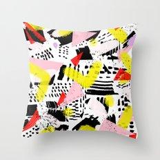 80's rocked Throw Pillow