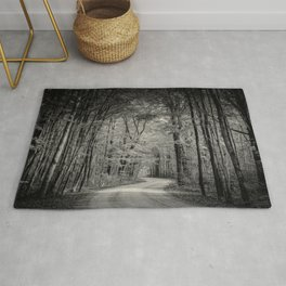 A lovely road trip Rug