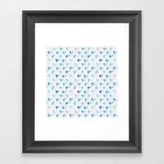 Day 001: Margot's Daily Pattern Framed Art Print