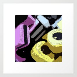 Handful Art Print