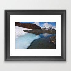 Ice Lake Framed Art Print