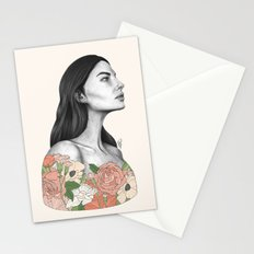 Blushing Blossoms Stationery Cards