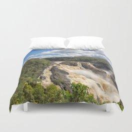 Magnificent Barron Falls in Queensland Duvet Cover