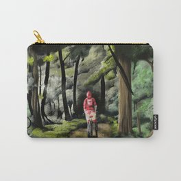 Girl in Woods Urban Fantasy Carry-All Pouch