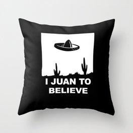 juan Throw Pillow