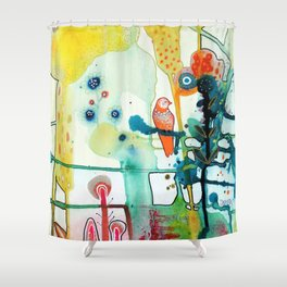 le murmure Shower Curtain