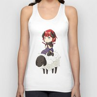 knitting Tank Tops featuring Knitting Adventure by Freeminds