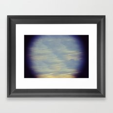 Highline Sunset Framed Art Print
