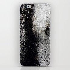 Negro sobre Blanco iPhone Skin
