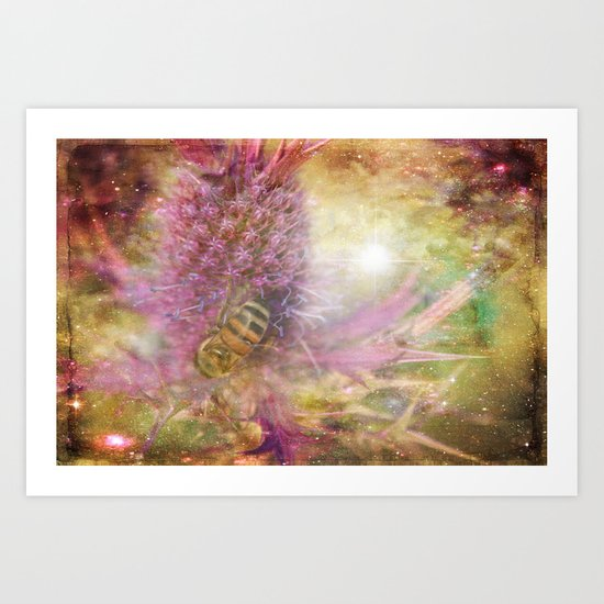 Pollen and Pixie Dust Art Print