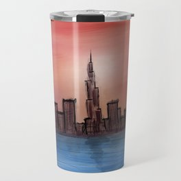 Dubai Marina Travel Mug