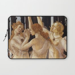 La Primavera - The Three Graces - Sandro Botticelli Laptop Sleeve