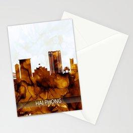Hai Phong Vietnam Skyline Stationery Cards
