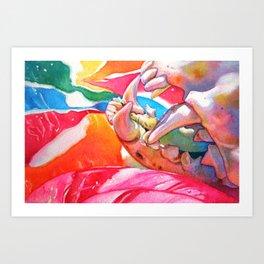 lollipop macabre Art Print