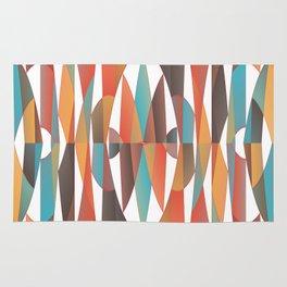 Colorful geometric abstract Rug
