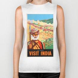 Jaipur the Pink City Biker Tank