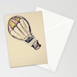 up, up, and away. Stationery Cards