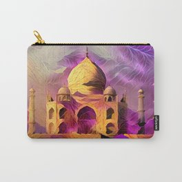 Violet Temple Carry-All Pouch